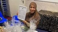 Petinju Wanita Ruby Jesiah Mesu Masuk Islam, Foto-foto Berhijabnya Viral