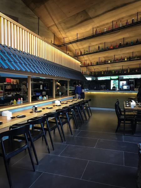 Izakaya-Go merupakan resto dan lounge ala izakaya Jepang pertama di Surabaya. Menu yang disediakan berupa makanan Jepang dan juga teppanyaki.