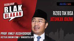 Blak-blakan Prof Jimly Jangan Hadapi Habib Rizieq Seperti Mau Perang