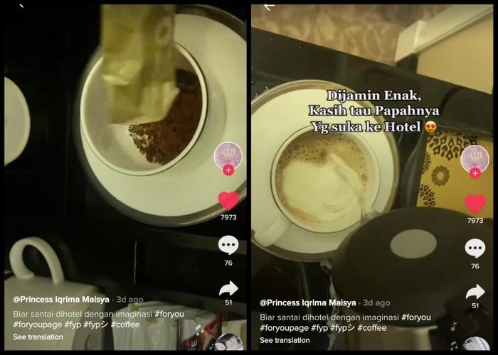 Trik Bikin Kopi Enak di Hotel, Modal Kopi dan Krimer Sachet di Kamar