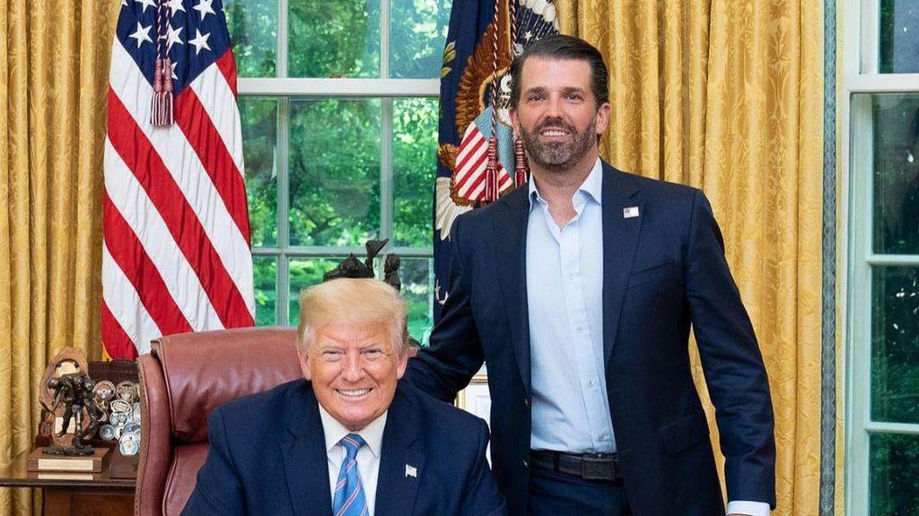 Fakta Putra Sulung Donald Trump yang Positif Corona, Sempat Tak Percaya Covid
