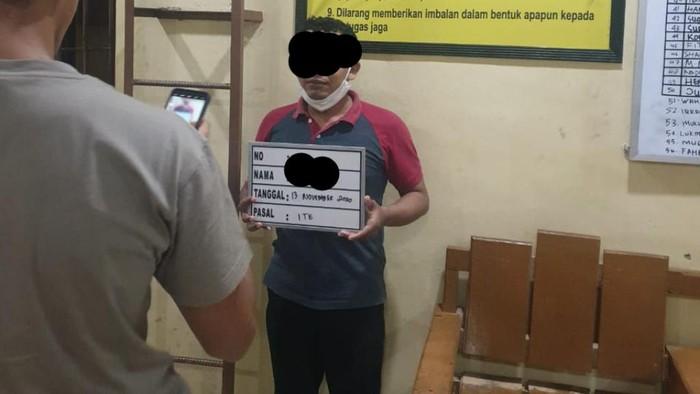 Eks Ketua FPI Banda Aceh ditangkap polisi. (Dok Polda Aceh)