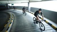 Musim sepedaan atau gowes rupanya dimanfaatkan Mall Kuningan City untuk membuka wahana baru bagi pecinta sepeda.