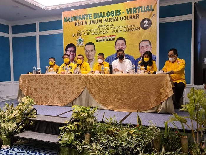 Golkar Kampanye Bobby Nasution