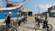 Polres Pelabuhan Tanjung Priok Patroli Sepeda, Antisipasi Begal dan COVID-19