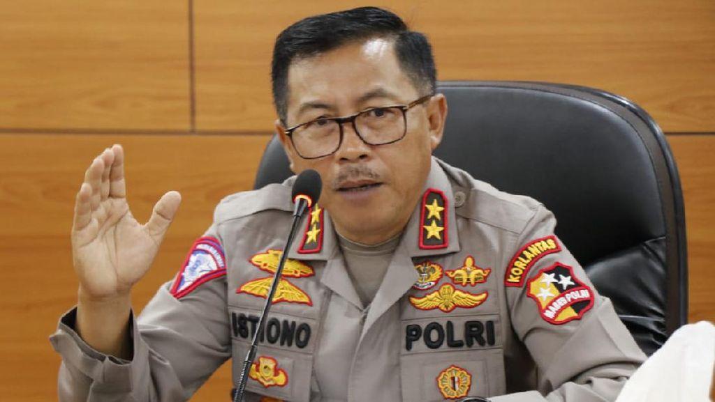 Polisi Putar Balik 450 Ribu Kendaraan Selama Masa Lebaran 2021