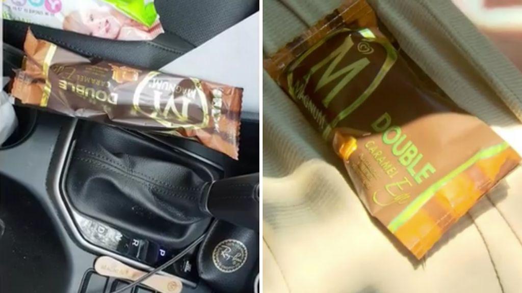 Lagi Asyik Makan Es Krim Wanita Ini Malah Kena Denda Rp 5,1 Juta