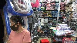 Jualan Seragam Tak Laku, Tagihan Sewa Pasar dan Listrik Tetap Menunggu