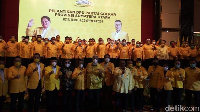 Pelantikan pengurus DPDP Golkar Sumatera Utara