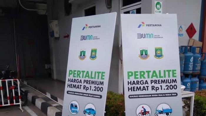 Pertalite Serharga Premium