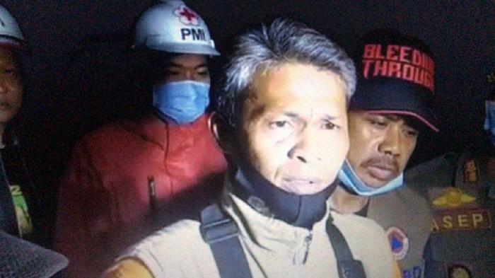 Staf Bidang Darurat BPBD Kabupaten Cianjur Herman