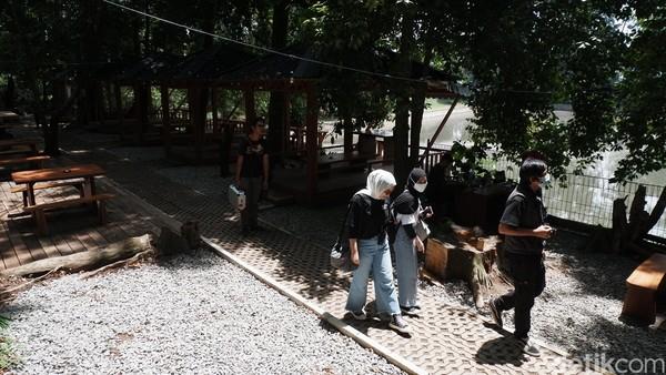 Cultural Space tersebut diresmikan pada 14 November 2020 lalu. Ke depan, akan ada aktivitas wisata alam dan ruang edukasi bagi pengunjung. (Siti Fatimah/detikcom)