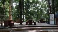 Cultural space ini dipergunakan sebagai ruang budaya, kesenian, dan kuliner. (Siti Fatimah/detikcom)