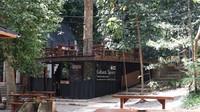 Taman Hutan Raya (Tahura) Bandung punya objek wisata baru yang diberi nama Cultural Space. (Siti Fatimah/detikcom)