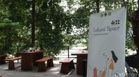 Lebih lanjut, pengunjung dapat memanfaatkan cultural space sebagai tempat untuk mengadakan kelas terbuka atau kelas alam dan ruang diskusi. (Siti Fatimah/detikcom)
