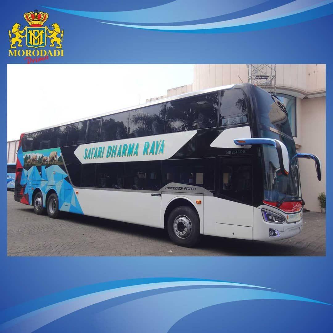 Bus tingkat bodi Grand Tourismo DD buatan Morodadi Prima