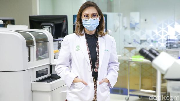 dr Thyrza Laudamy Darmadi, SpPK - Spesialis Patologi Klinis RS Pondok Indah Bintaro