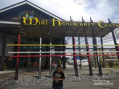 Ini Pusat Kerajinan Tangan di Miri Serawak, Malaysia