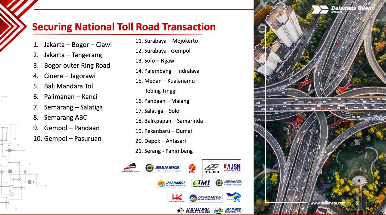 Lajur jalan bebas hambatan di Indonesia