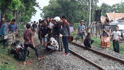 Seorang Pelajar Tewas Tertabrak Kereta Api Sritanjung di Probolinggo