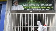 Petamburan Disemprot Disinfektan Imbas Kerumunan Massa Habib Rizieq