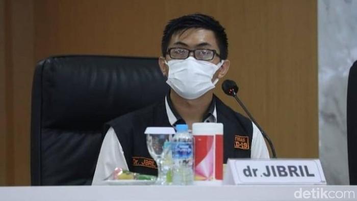 Satgas Kuratif COVID-19 Jatim dr Makhyan Jibril