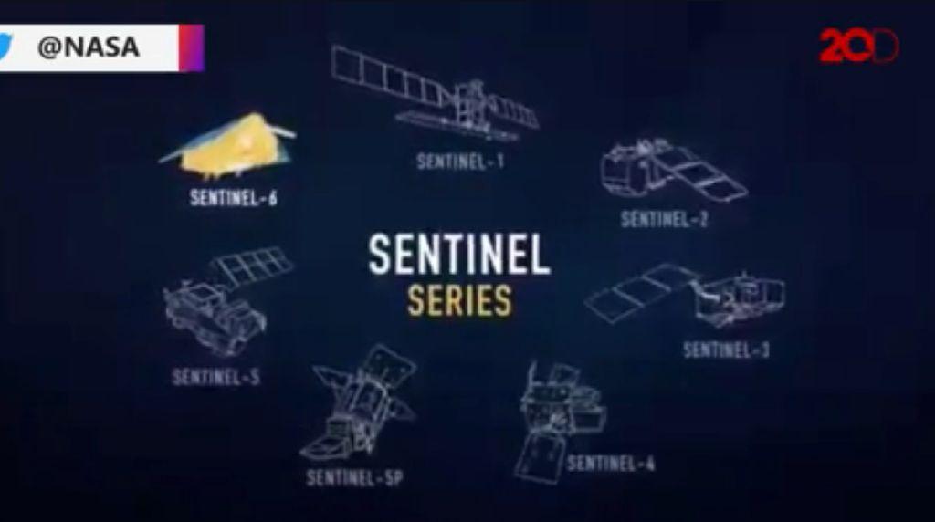 AS-Eropa Luncurkan Satelit Pengukur Permukaan Laut