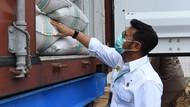 Mentan Lepas Ekspor 21 Ton Cabai Kering ke Pakistan