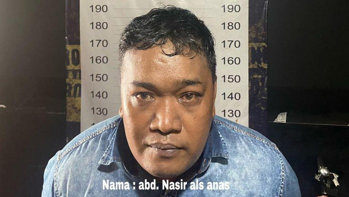 Anas ditangkap di Makassar usai cekoki obat dan setubuhi wanita hingga tewas di Kolaka, Sultra (dok. Istimewa).