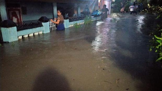 Banjir di Kota Bengkulu pada Senin, 23 November 2020