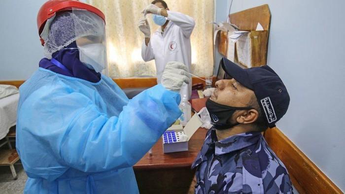Covid-19: Layanan kesehatan Gaza bakal kewalahan tangani pasien Covid-19 dalam beberapa hari mendatang