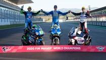 Trio Juara Dunia GP 2020: Mir, Bastianini, Arenas