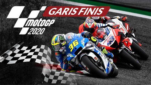 Finis MotoGP 2020