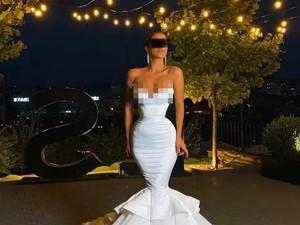 Wanita Pakai Gaun Pengantin Sempit Ini Viral, Bikin Susah Jalan & Bernapas