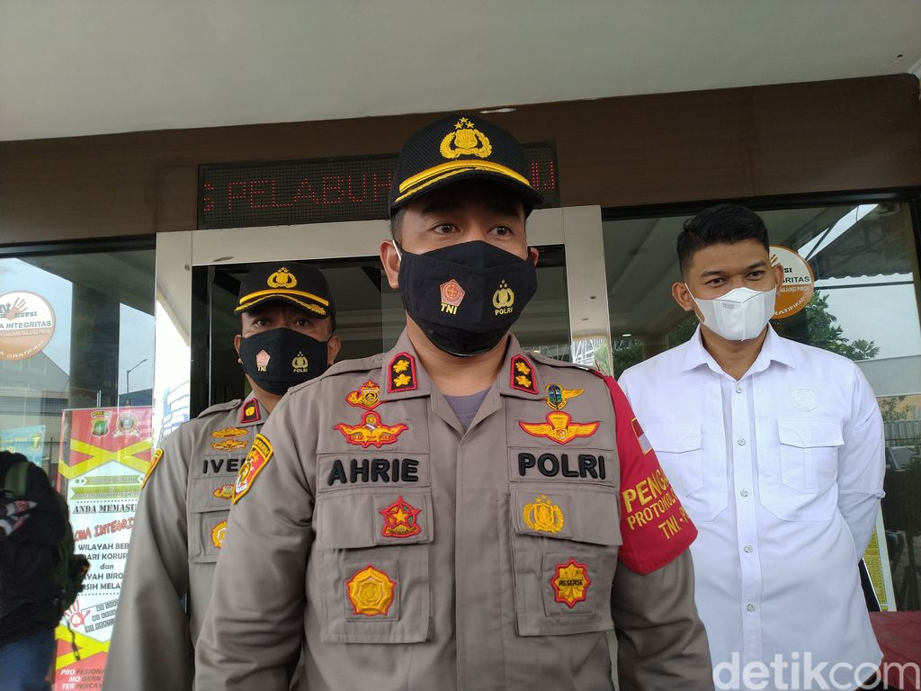 Kapolres Pelabuhan Tanjung Priok AKBP Ahrie Sonta