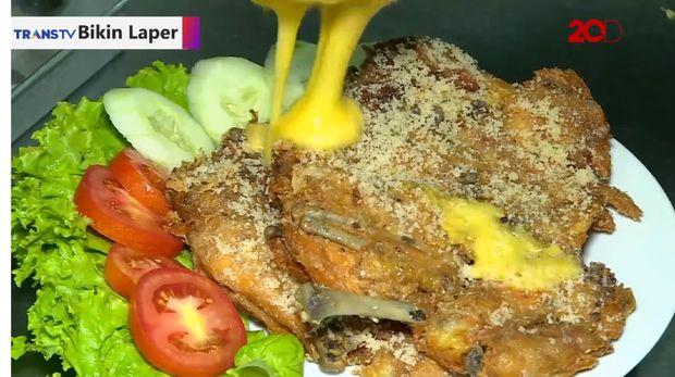 Kriuk Nendang Ayam Presto Cabe Merah dan Bandeng Dalam Sarang
