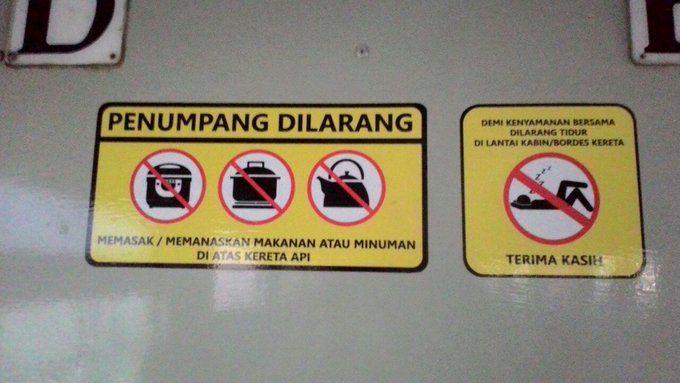 Lihat Stop Kontak di Kereta, Netizen Ini Niat Mau Bawa Rice Cooker