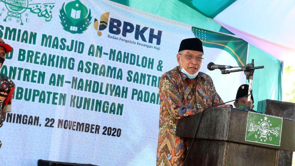 Momen Said Aqil Resmikan Masjid PBNU di Kuningan