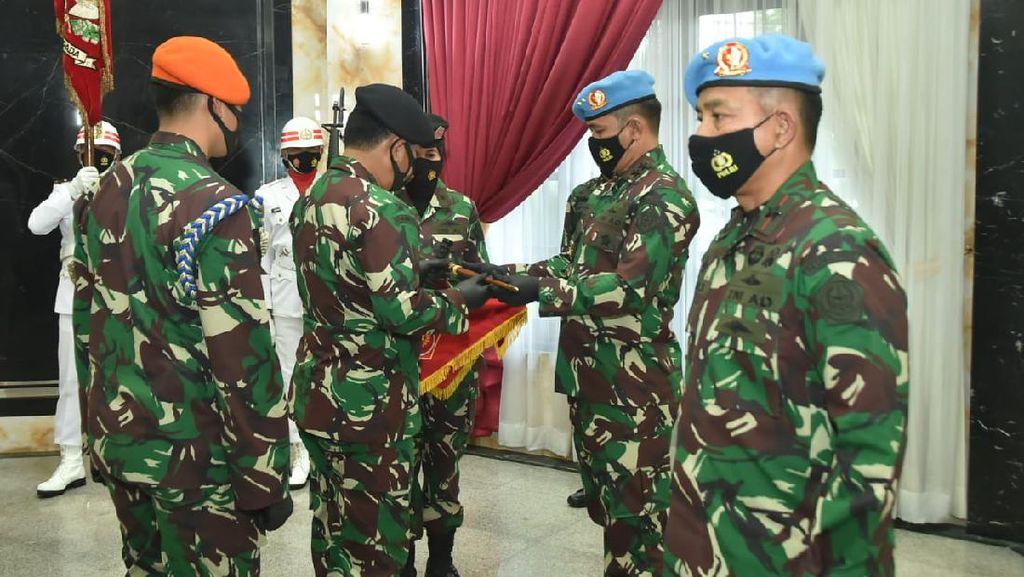 Panglima TNI Pimpin Sertijab, Brigjen Agus Subiyanto Resmi Jadi Danpaspampres