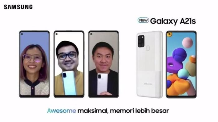 Peluncuran Samsung Galaxy A21s