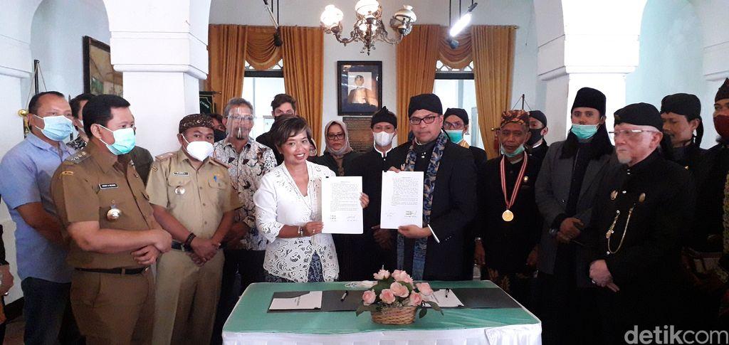 Pemkab Sumedang Bersama The Lodge Group bekerjasama untuk menata kembali museum Geusan Ulun