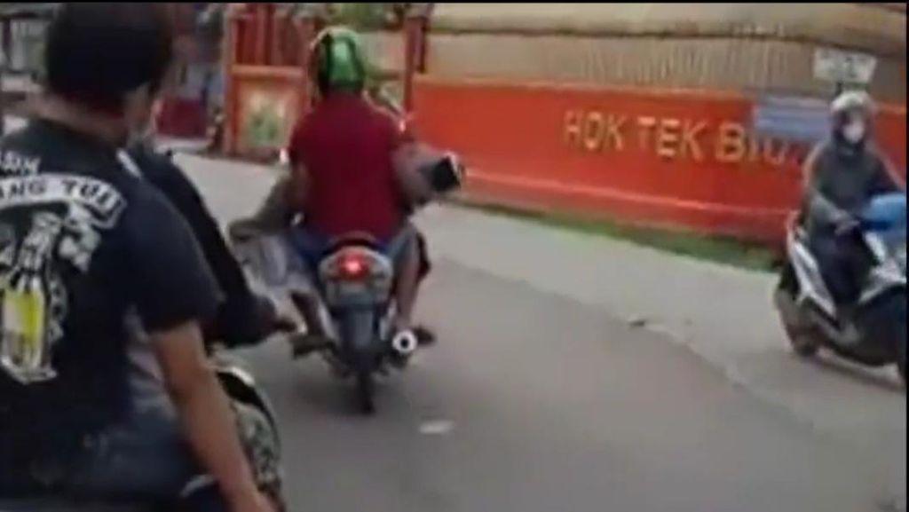 Viral Video Pemotor Bawa Jenazah di Bogor, Ini Kata Polisi