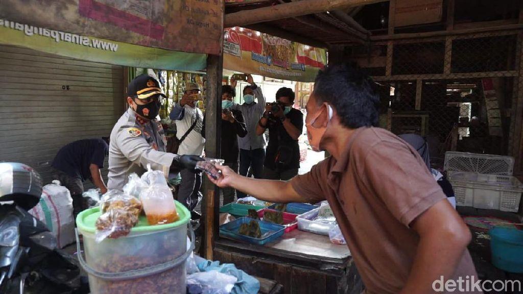 Razia Prokes di Pasar Tradisional Mojokerto, Ini Temuan Polisi