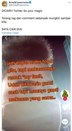 Salut! Kisah Ojol Ganti Makanan Pelanggan yang Remuk