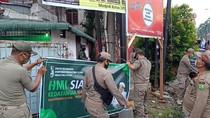 Spanduk Siap Kawal Habib Rizieq Dicopot, HMI Sumut: Harusnya yang Lain Juga