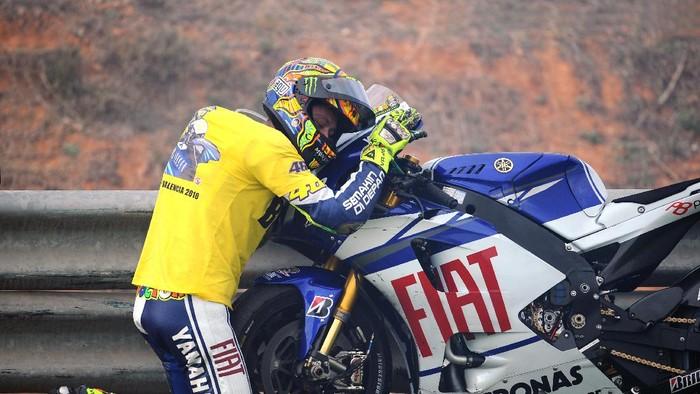 Valentino Rossi bersama Yamaha