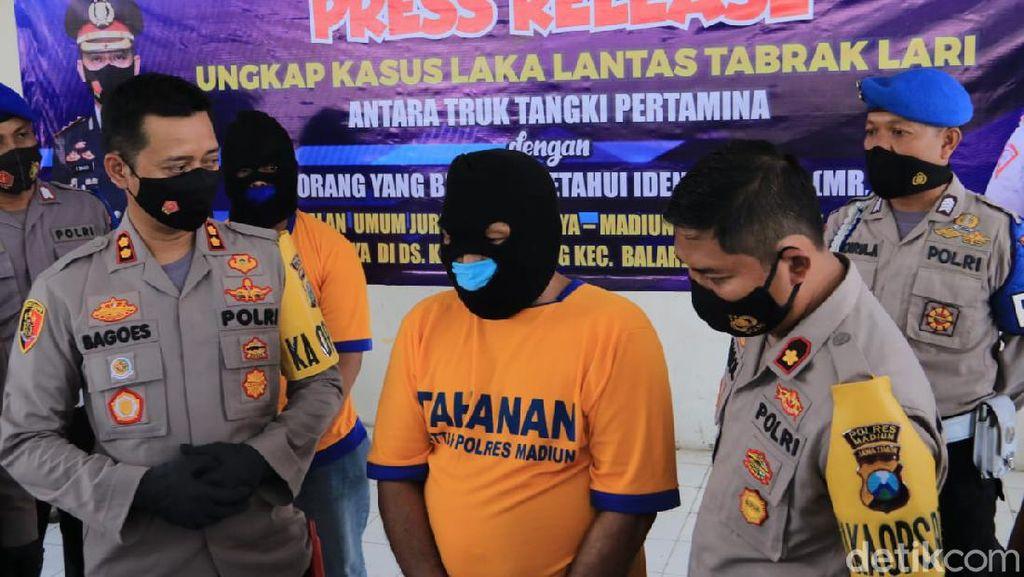 Tabrak Pria Duduk di Tengah Jalan Bikin Sopir Truk Pertamina Jadi Tahanan
