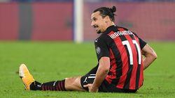Milan Harap-harap Cemas Tunggu Kabar Cedera Ibrahimovic