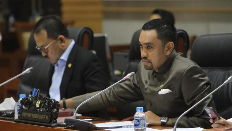 Wakil Ketua Komisi III DPR Ahmad Sahroni.