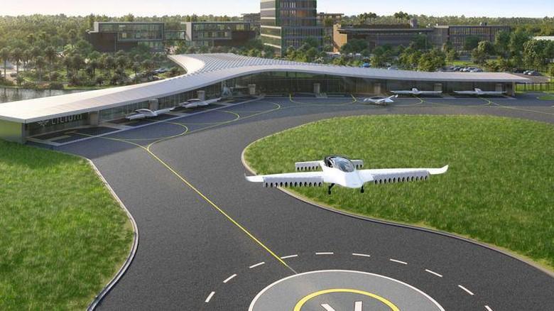 Bandara Hub Mobil Terbang pertama dibangun di Florida